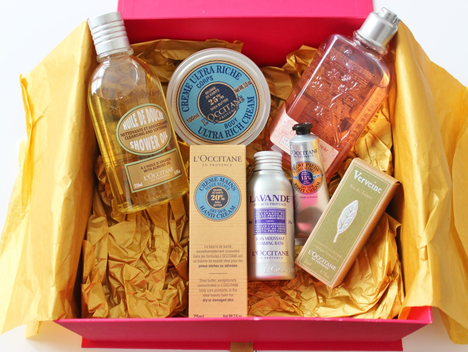 Loccitane christmas gift box surprise