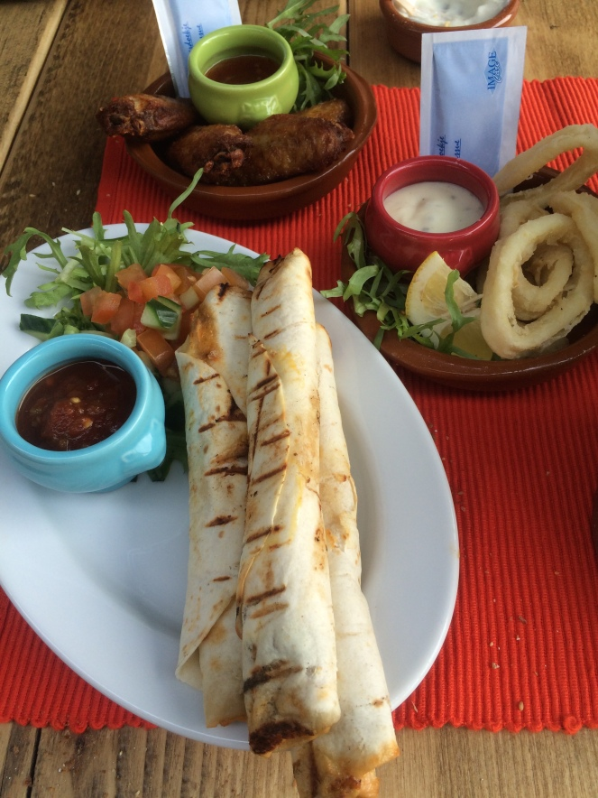 latin american grill quesidilas